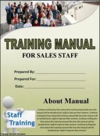 Top  Resources To Get Free Training Manual Templates  Word