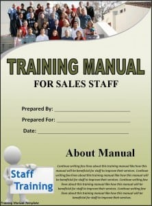 Training Manual Template 34851