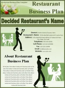 Top Resources To Get Free Restaurant Business Plan Templates - Free restaurant business plan template
