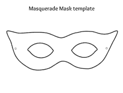 mask design template 3545