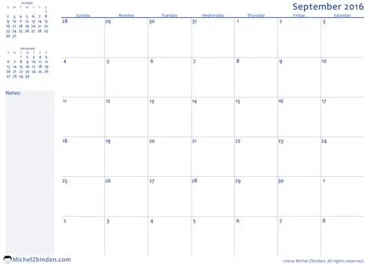 Top 5 Resources To Get Free Office Calendar Templates Word