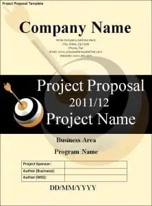 it project proposal template free download