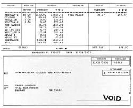 Direct Deposit Pay Stub Template - FREE DOWNLOAD