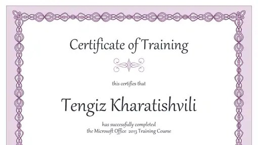 Top 5 Resources To Get Free Training Certificate Templates