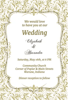 Top Resources To Get Free Wedding Invitation Templates Word Invitations