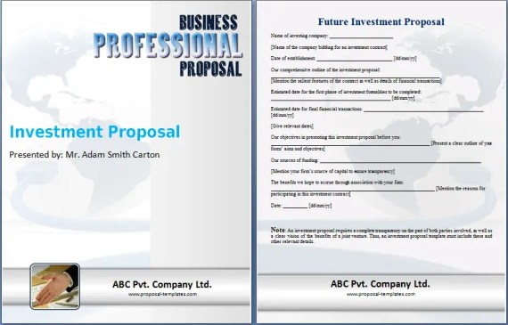 investment proposal 24