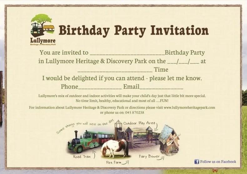 11 free birthday invitation templates