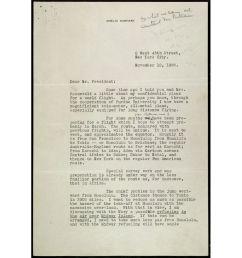 Letter from Amelia Earhart to President Roosevelt Regarding her World  Flight   DocsTeach [ 900 x 900 Pixel ]
