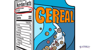 Serving size is typically provided in cups or ounces, so measuring the food you plan to eat is the only way to know exactly how many calories it contains.