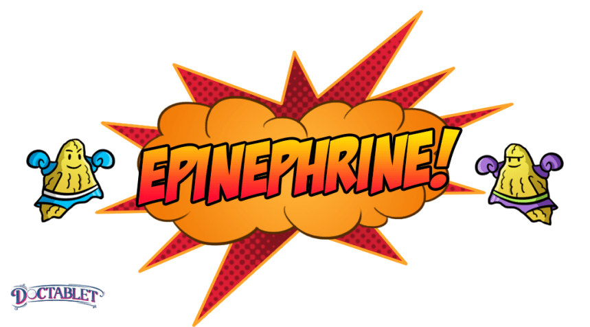 "Epinephrine helps the body respond to stress — the ""fight or flight"" response."