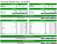 7+ Bi-Weekly Budget Templates | An Easy Way to Plan a Budget