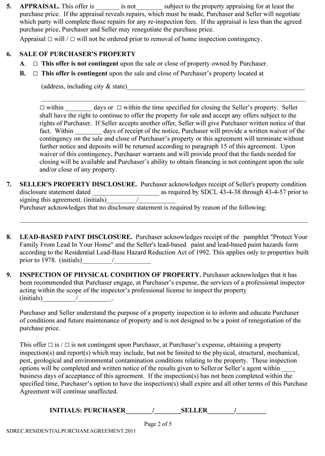 sale letter templates