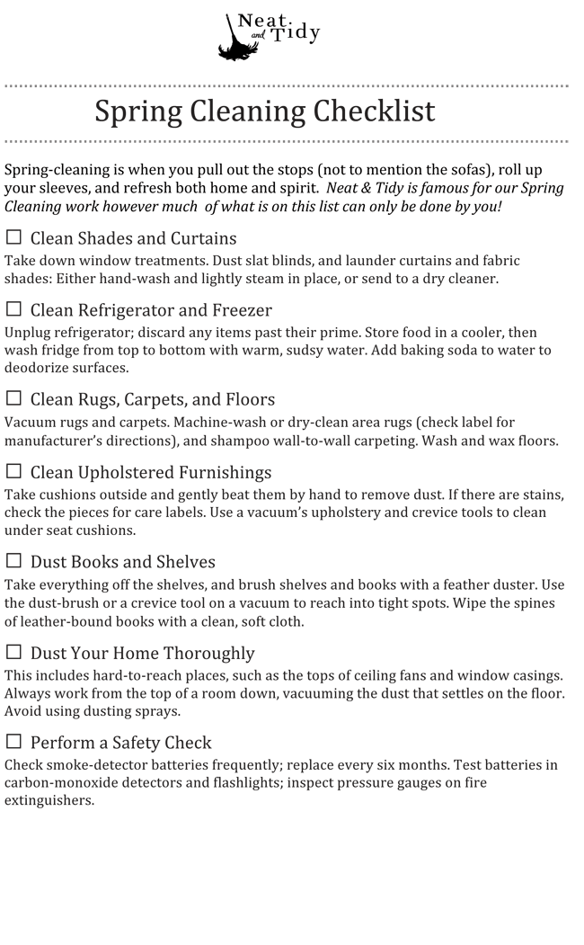 cleaning templates free