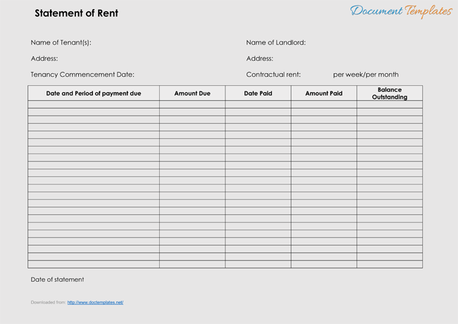 receipt templates for word