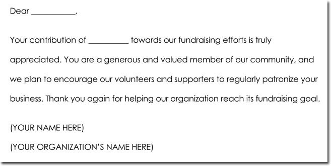 Donation Thank You Note Samples Formats & Wording Ideas