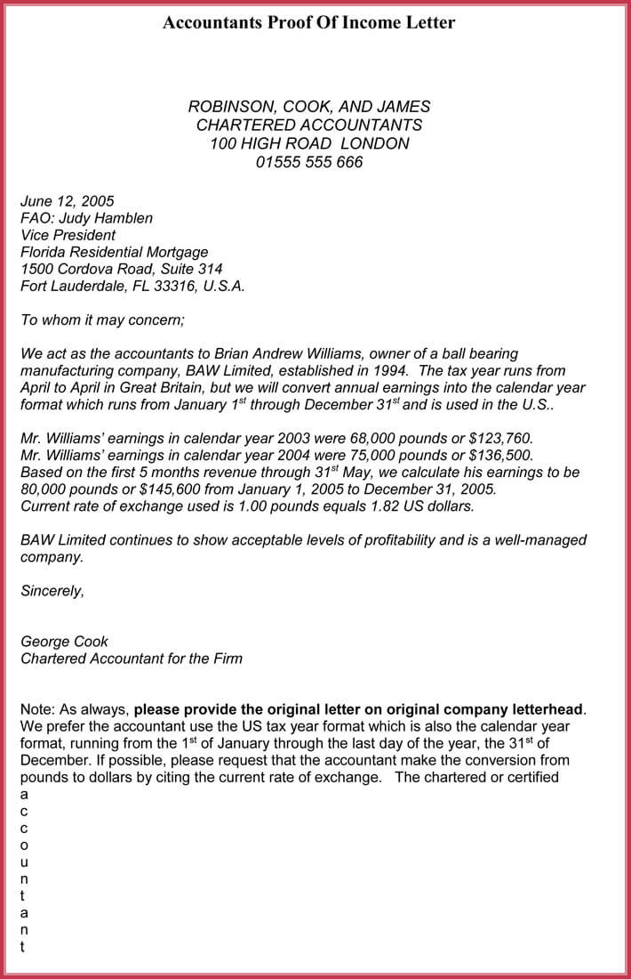 proof of residency letter template