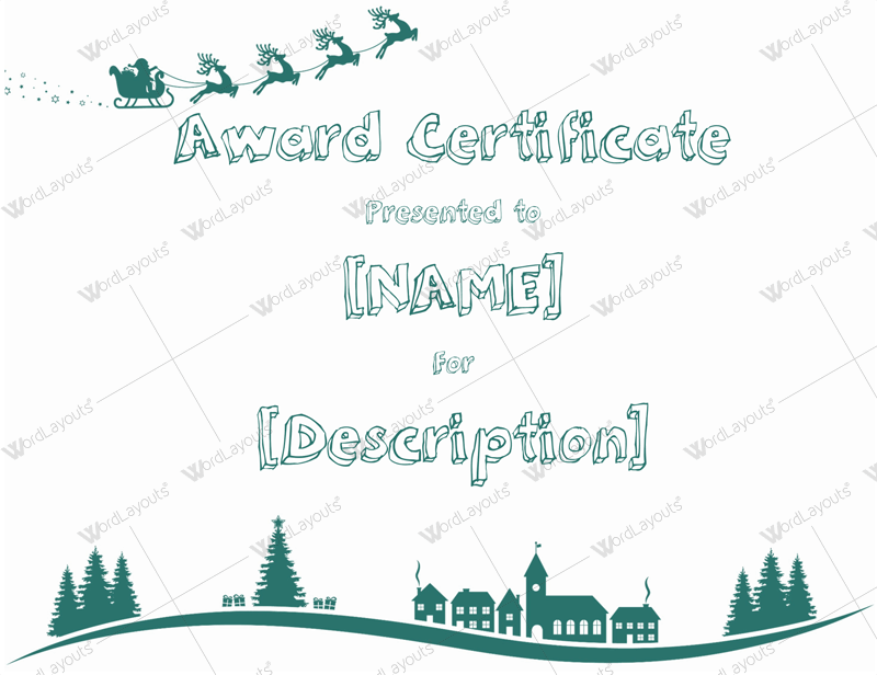 download free certificate templates microsoft word