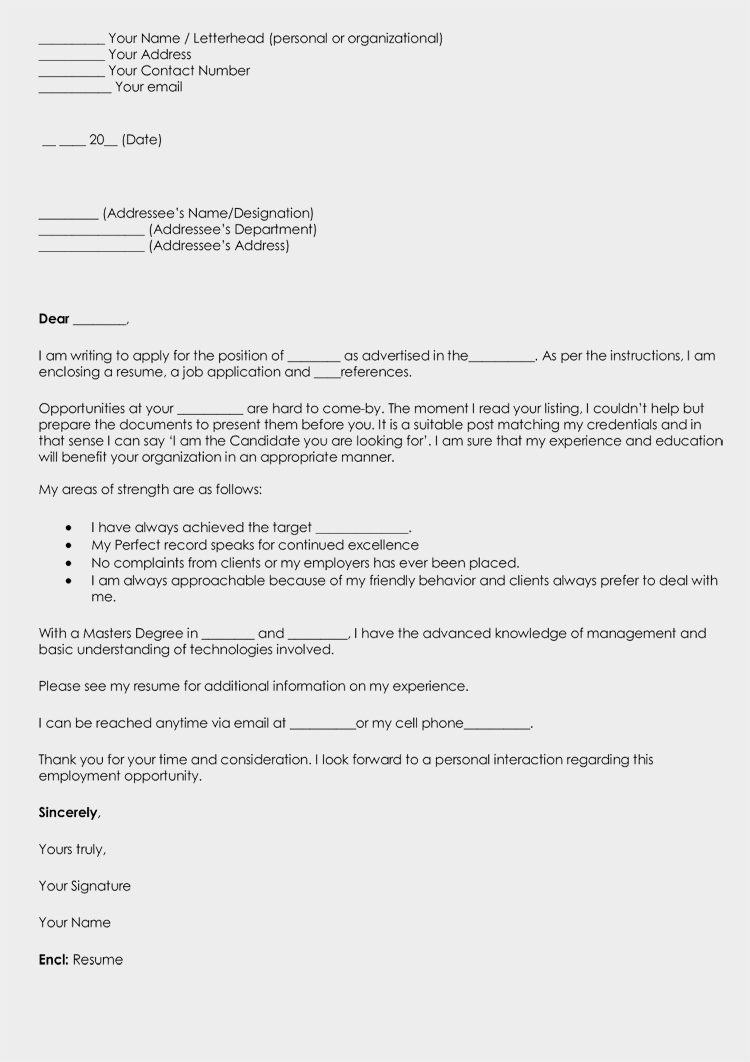 Write a Cover Letter for Resume Grab Attention with 8 Samples