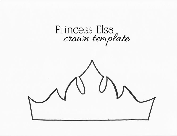 Paper Crown Templates for Prince, Princes (Print & Cut at