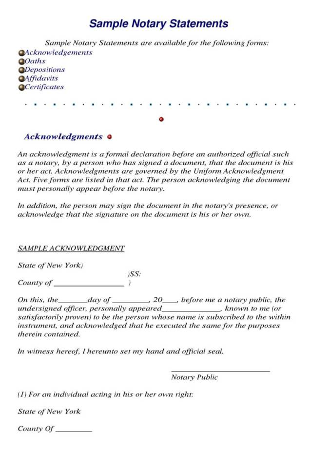 27+ Sample Notarized Letters and Templates (Writing Tips)