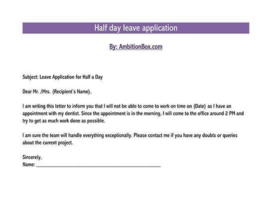 28+ Free Leave of Absence Request Letter Templates & Samples