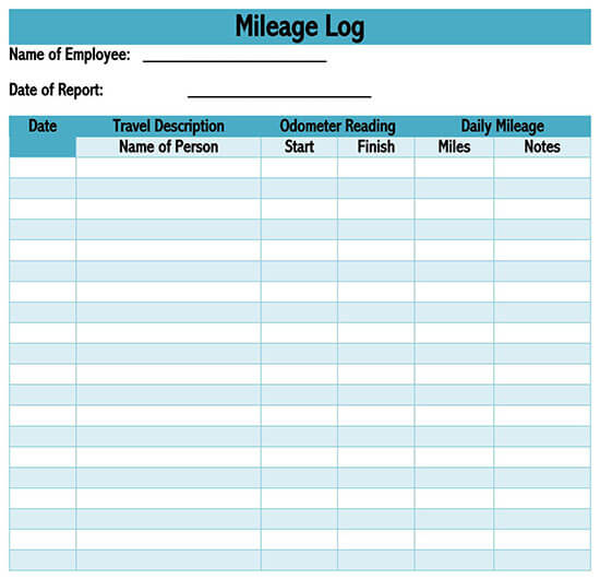 Download our free mileage claim template form as an excel spreadsheet,. Free Irs Mileage Reimbursement Form And Tracking Templates