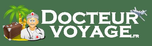 Logo Docteur Voyage Blanc 2