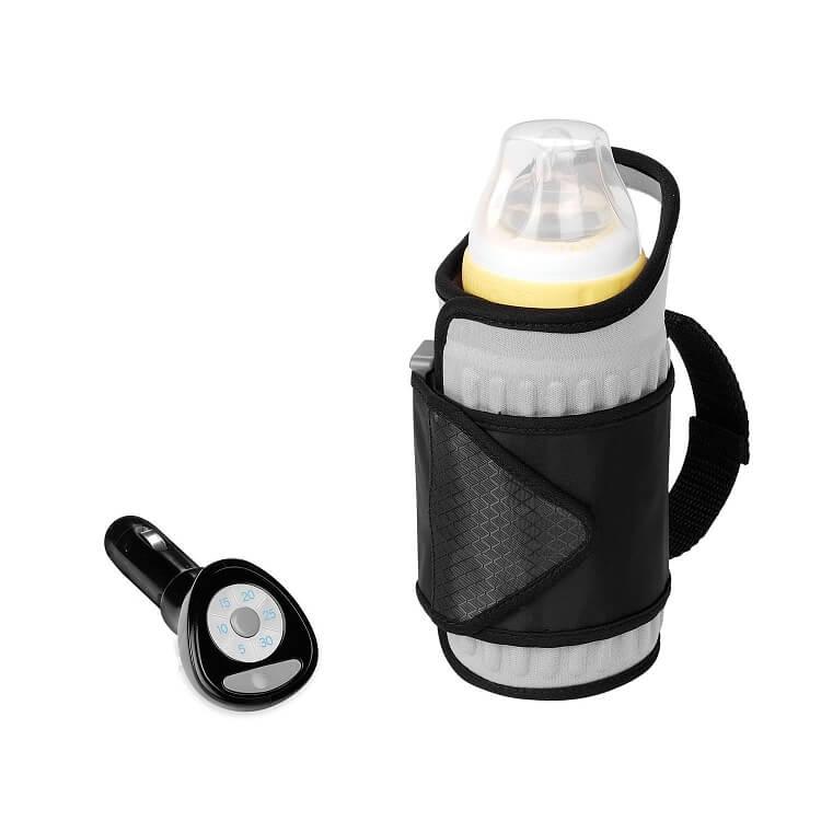 Leap-G Chauffe biberon,Portable Chauffe-Lait USB Chauffant Lait b/éb/é Chauffe-biberon,Couvercle disolation de Bouteille de Lait