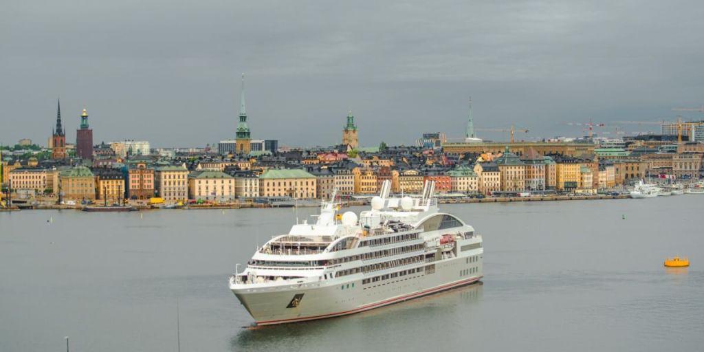 Mer baltique en bateau de croisière