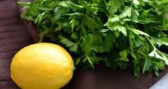 persil citron