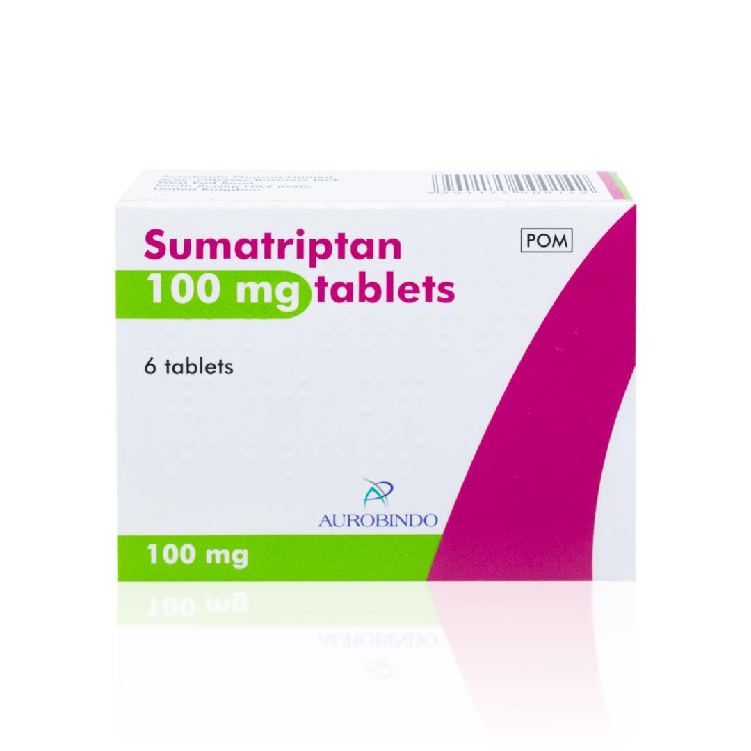Sumatriptan Tablets (Generic Imigran) - 50mg and 100mg ...