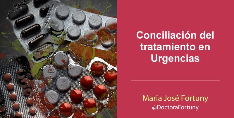 Conciliación del tratamiento en Urgencias
