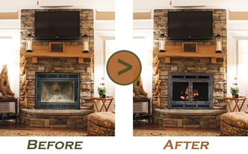 Curl Up to a Fireplace this Fall  Fireplace Installation