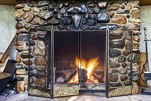 Cleaning Fireplace Flue