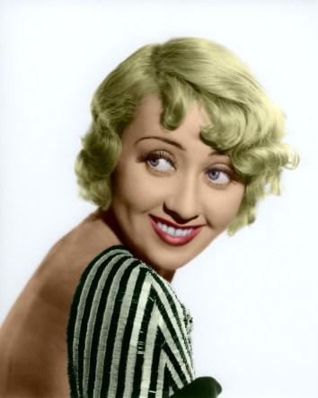 1930's blonde actress Joan Blondell
