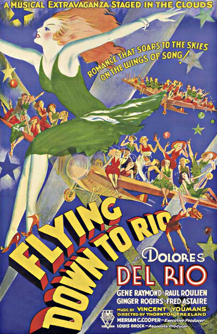 Image result for flying down to rio