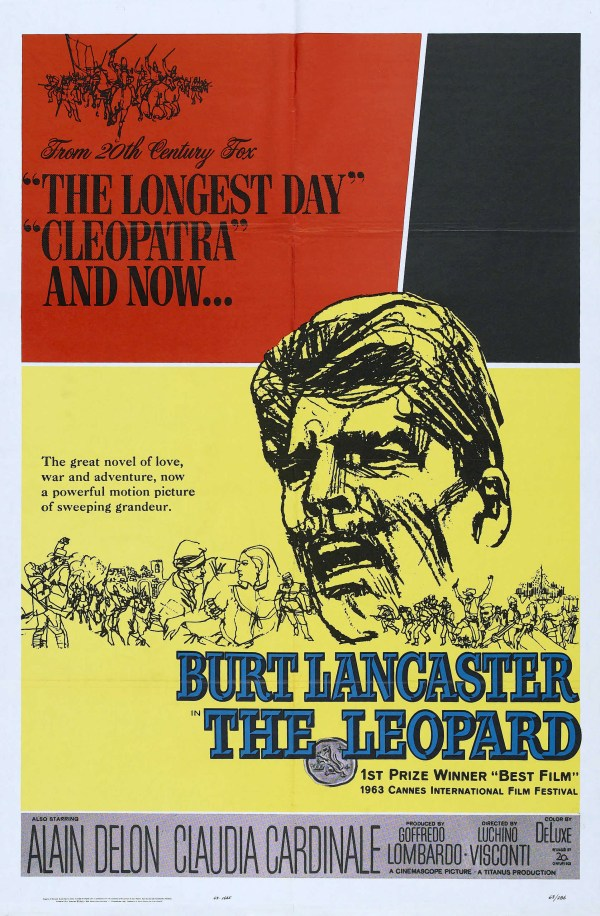 Leopard 1963 Movie Poster