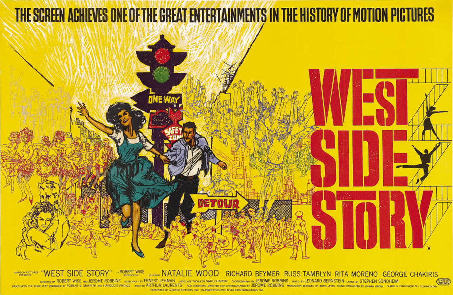 gender issues in west side story Read the full synopsis of west side story, 1961, directed by robert wise, with natalie wood, richard beymer, russ tamblyn, at turner classic movies.