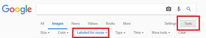 فلترة محرك البحث جوجل للصور