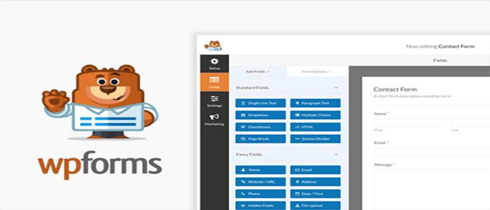 WPForms هو المكون الإضافي لنماذج اتصال ووردبريس الأكثر توافق للمبتدئين