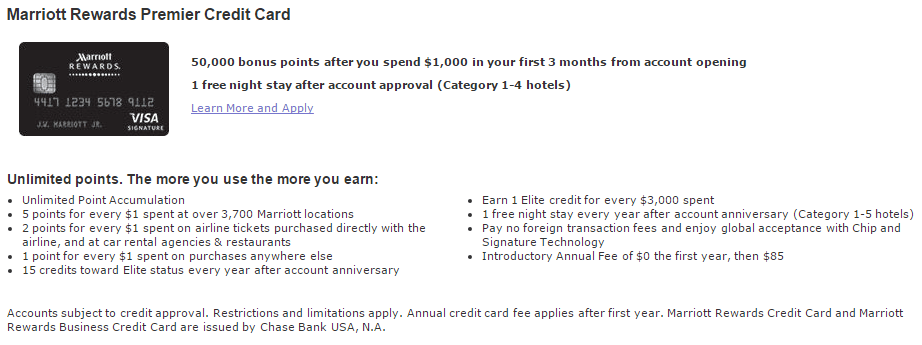 not working likely expired looong ago marriott rewards premier - Marriott Rewards Credit Card No Annual Fee