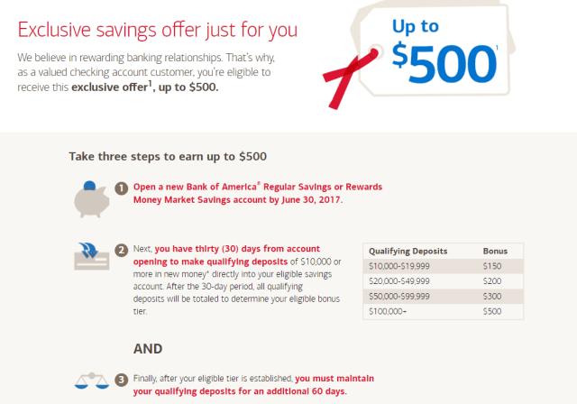 Targeted] Bank of America Up To $15 Savings Bonus - Doctor Of Credit