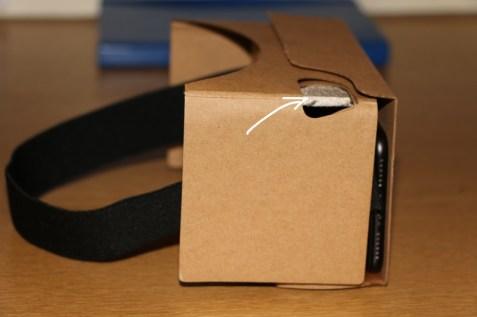 Google Cardboard Interact Button