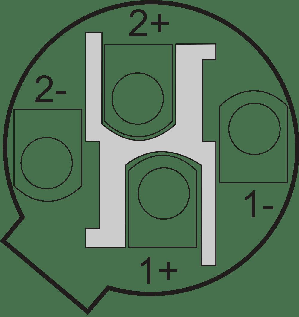 Asignaciones de pines para diferentes conectores de audio