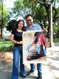 Animalistas en la Caravana Antitaurina en Medellín