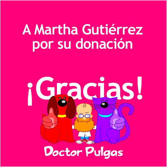 Gracias a Martha Gutiérrez