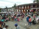 Más de doscientas personas asistieron a la marcha.