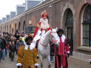 Sinterklaas and Zwarte Piet