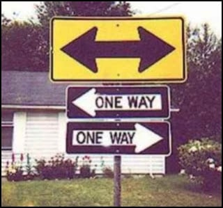 lack of direction