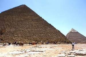 Here's what they were doing in Egypt 4,000 years ago (not an actual photo)